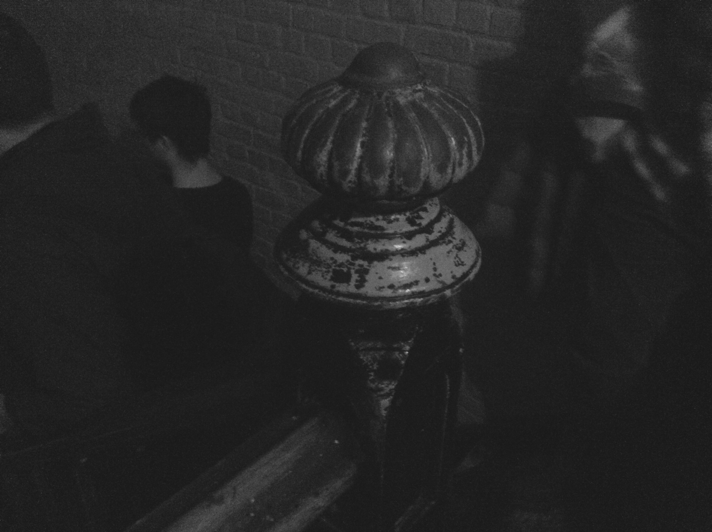 Gallows Stairwell bannister.