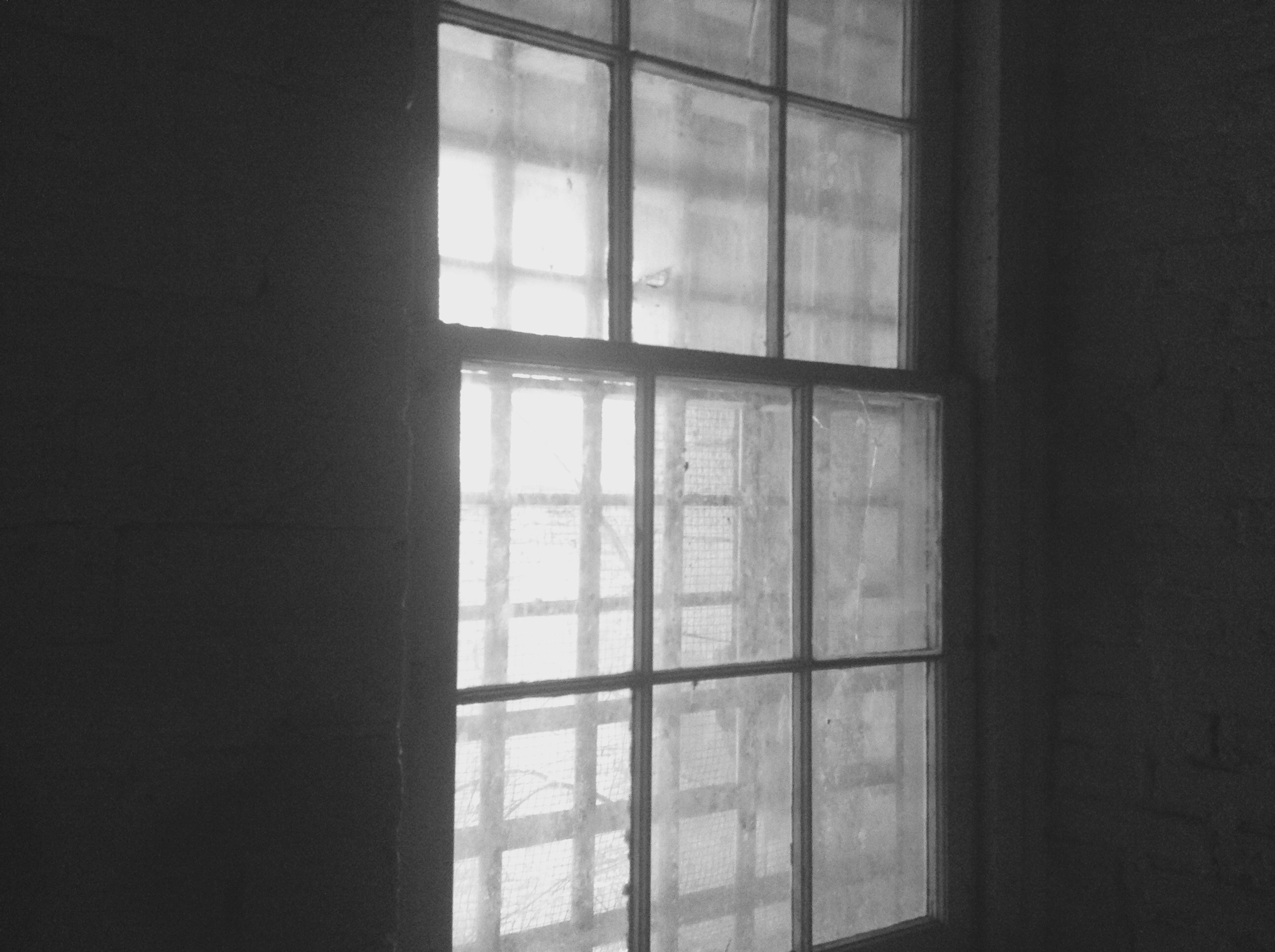 Window in Guards Quarters.