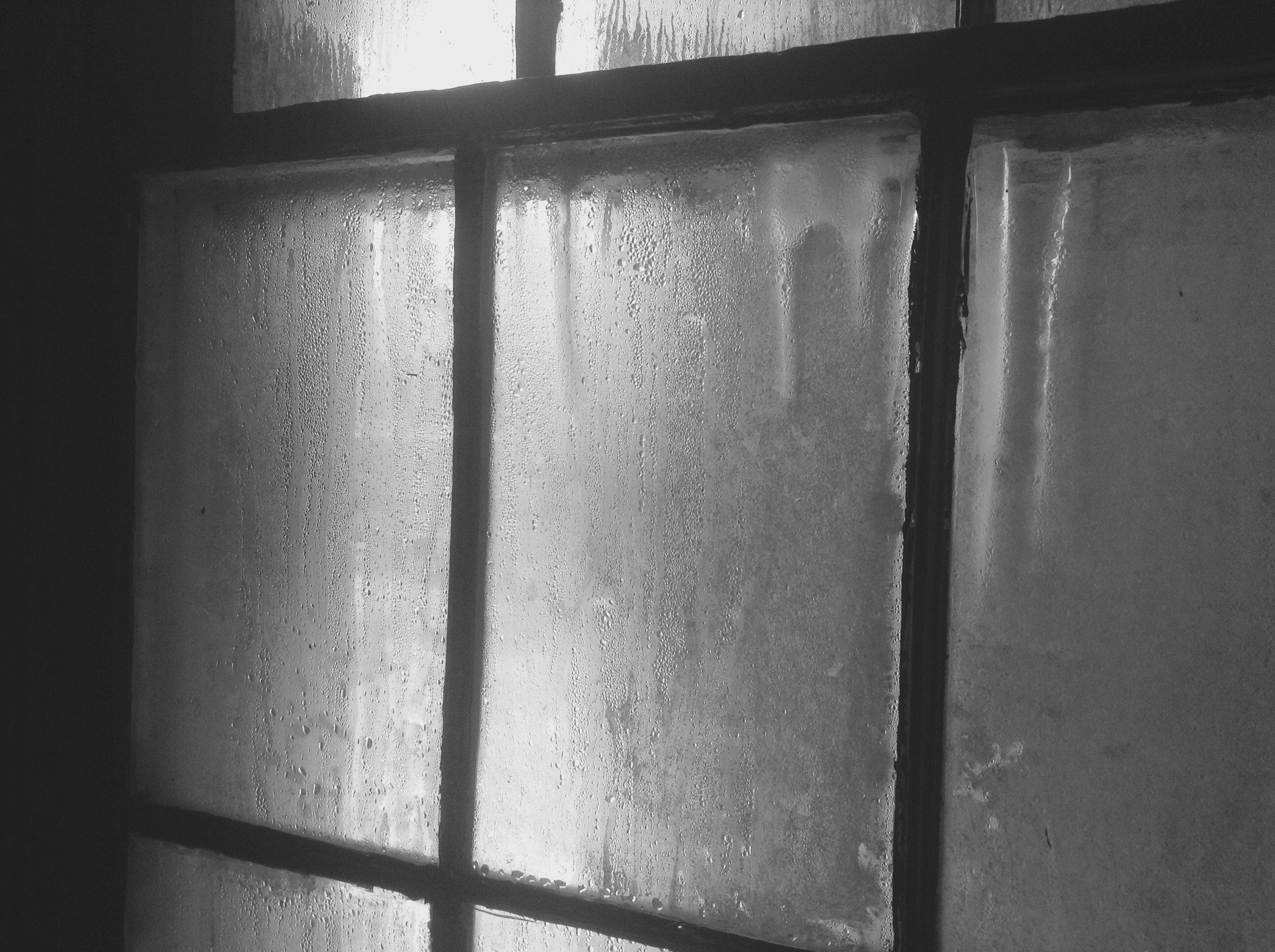 Window in Guards quarters.