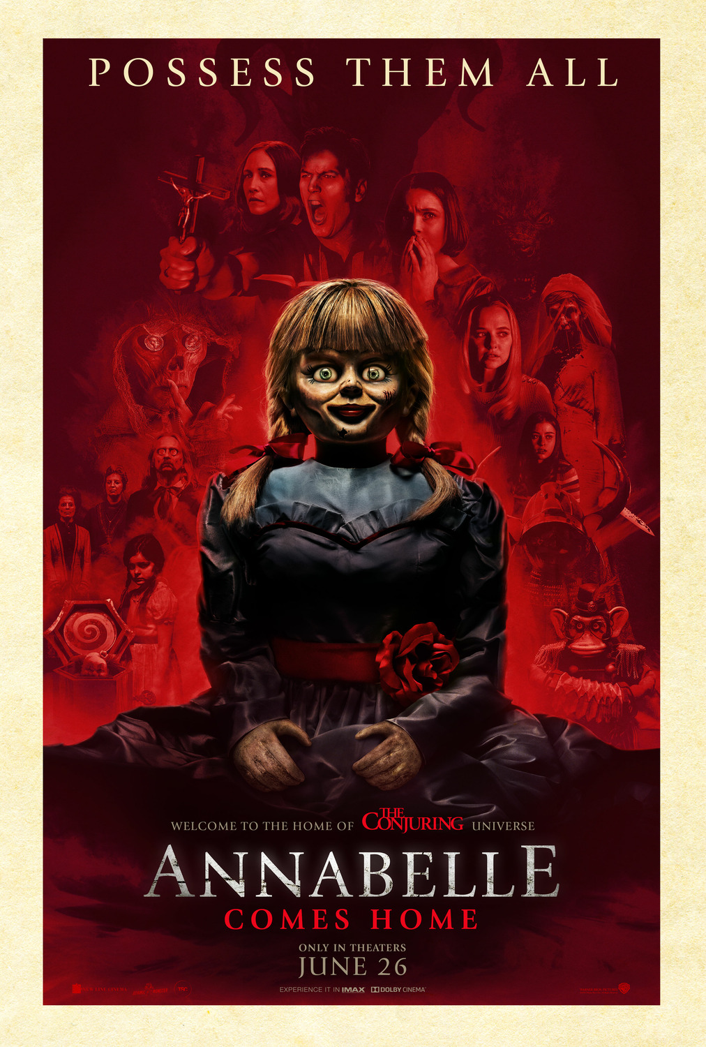 Annabelle Comes Home  movie promo poster