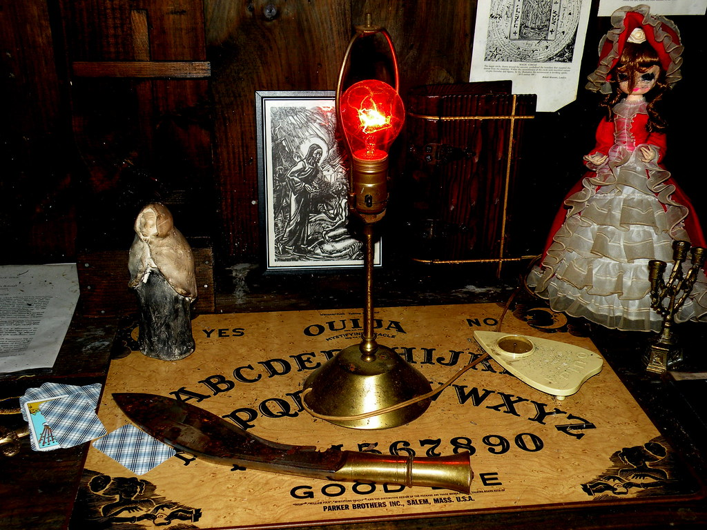Photo of part of the Warrens' Occult Museum courtesy of 826 Paranormal via Flickr