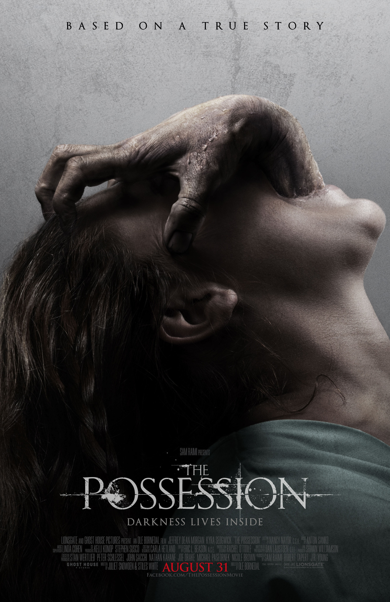 Movie poster for  The Possession , retrieved from the IMDb page.