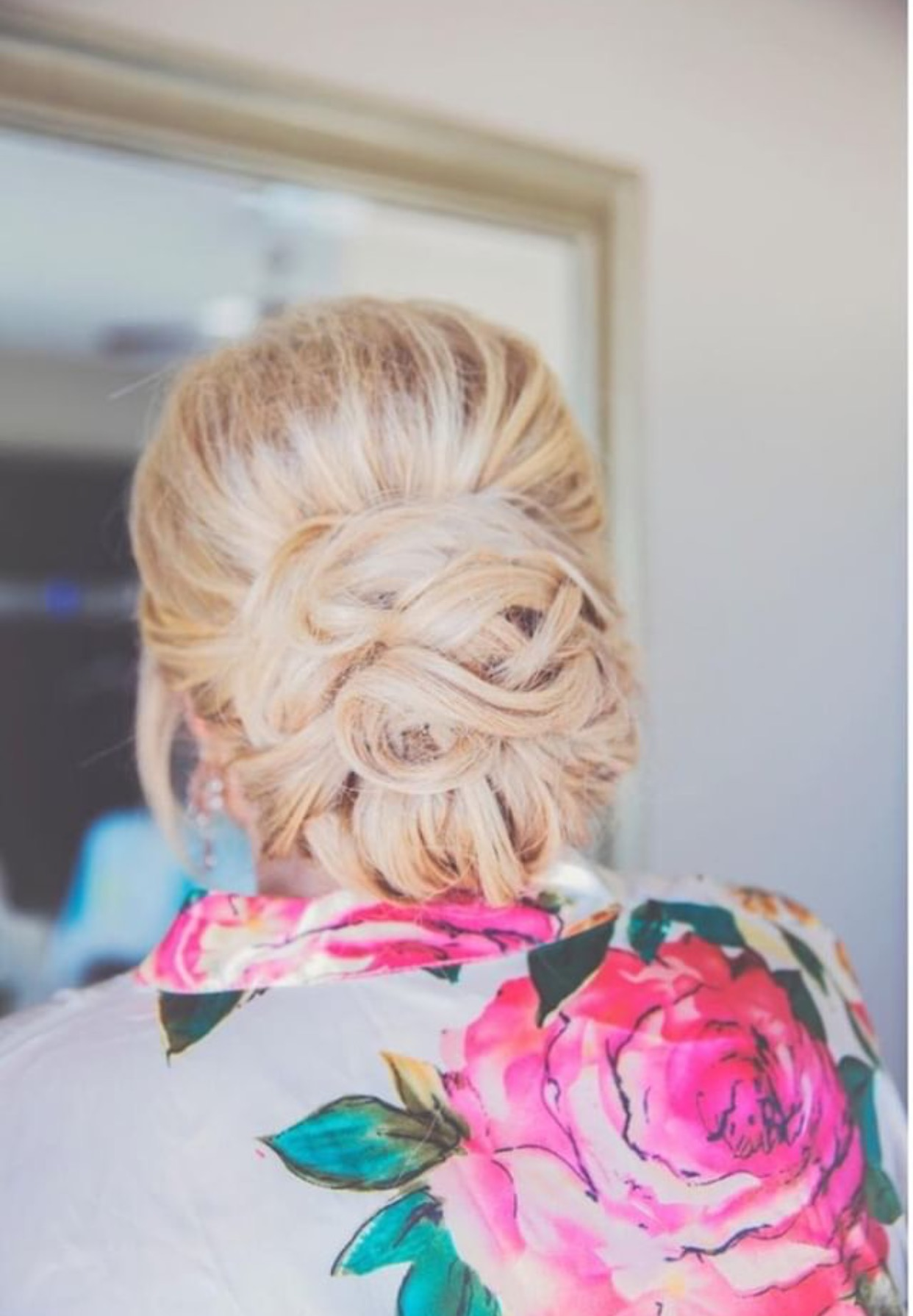 - 7. WHIMSICAL ROMANCEAN ETHEREAL TWIST ON THE CLASSIC LOW BUN. THE INTERTWINED LOOPS ADD THE PERFECT TOUCH OF ROMANCE....BRIDE: SYDNEY SHOEMAKERHAIR STYLIST: MADISON BILELLO HAIR AND MAKEUPPHOTOGRAPHER: LACEY MARIE
