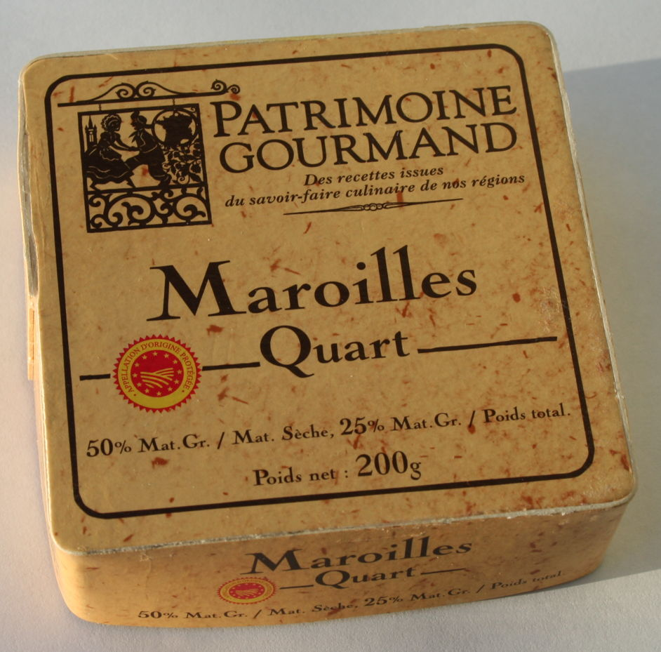 Maroilles-cheese in France.jpg