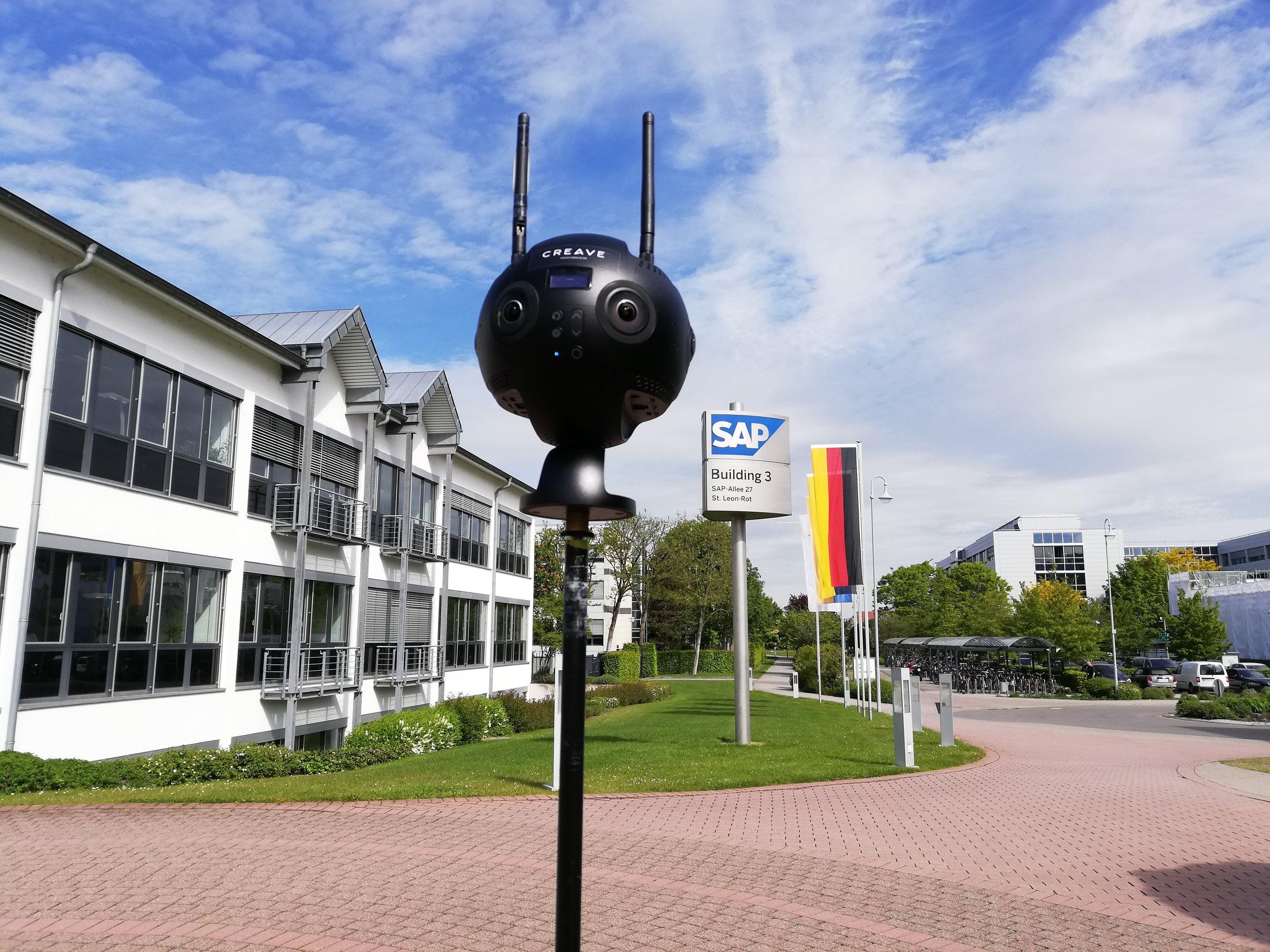 SAP 360° Video - Insta360 Pro2