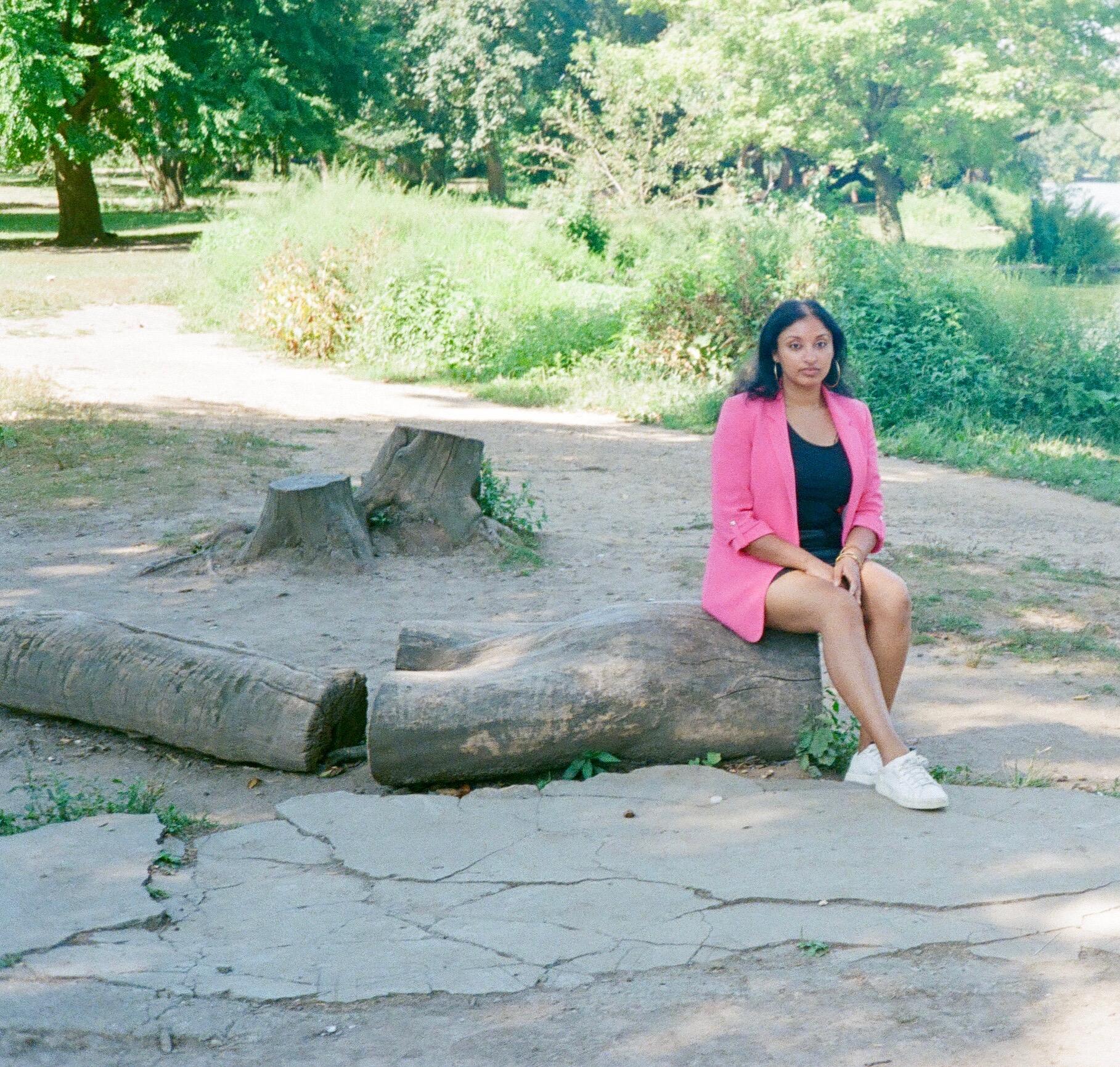 Kishori, in Prospect Park, Brooklyn