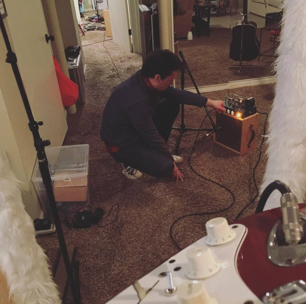 12.17.2015 Recording Guitars for Everyone Will Leave & You