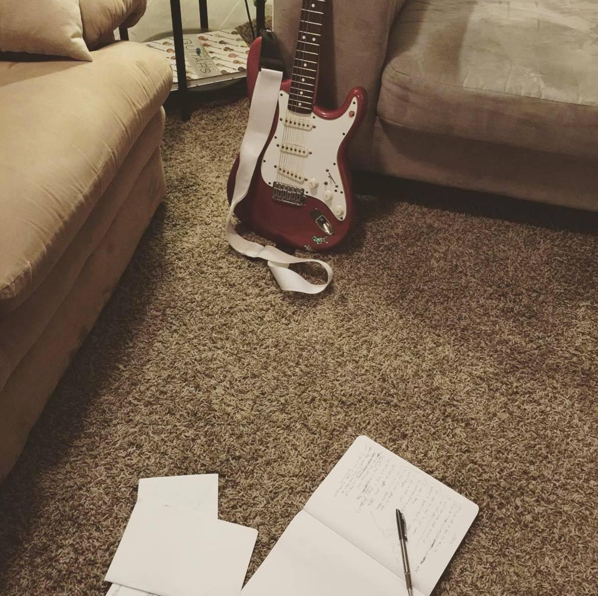12.24.2015 writing Vera alone on Christmas Eve