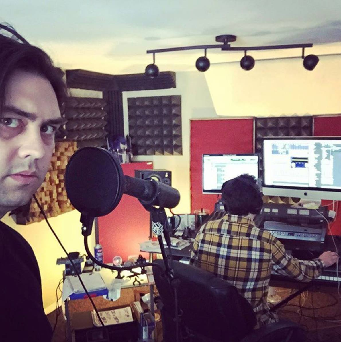 03.09.2016 Recording VOX for VERA. We redid these 4 more times by the end of the IBYAC sessions.