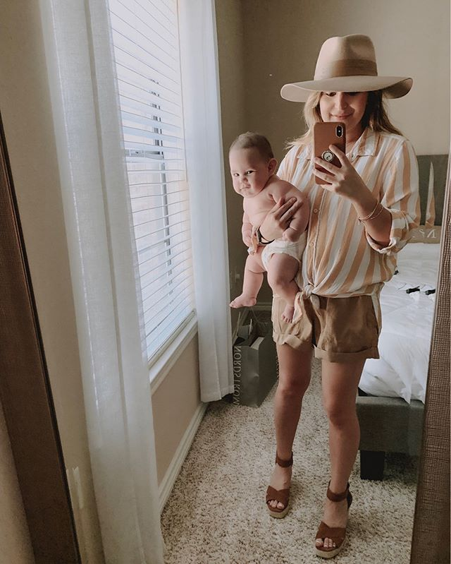 Summer Essentials ☀️ and currently using them on our beach trip 🏝 Swipe left to see another way i styled my new fave striped top. ⁣ -⁣ And can we talk about how big my Lincoln love is getting???? 😭👶🏻 C{hunk} of love right there!! ⁣ -⁣ Link in bio to shop this pic via Liketoknow.it 🍑 HAPPY WEEKEND FROM PADRE! http://liketk.it/2BSEE @liketoknow.it #LTKshoecrush #LTKunder50 #LTKunder100 #LTKfamily #liketkit