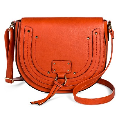 Faux leather crossbody-target