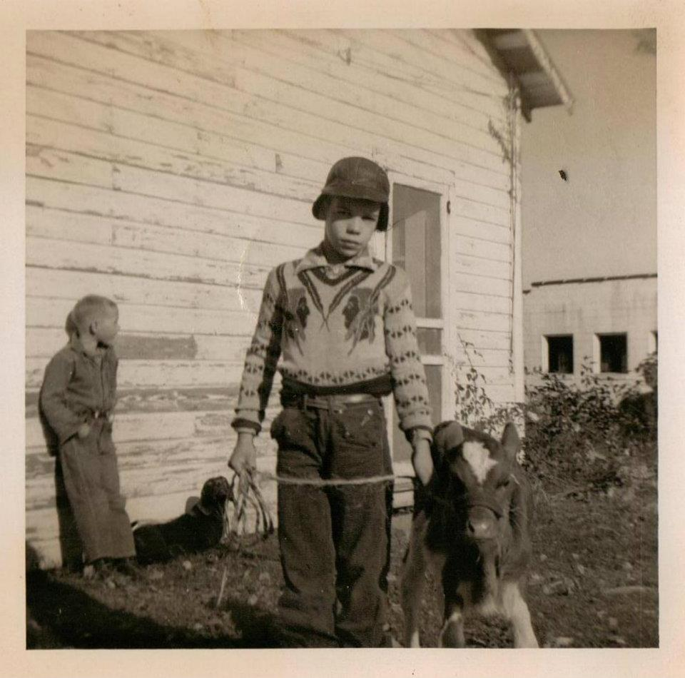 Butch and his brother (1957)