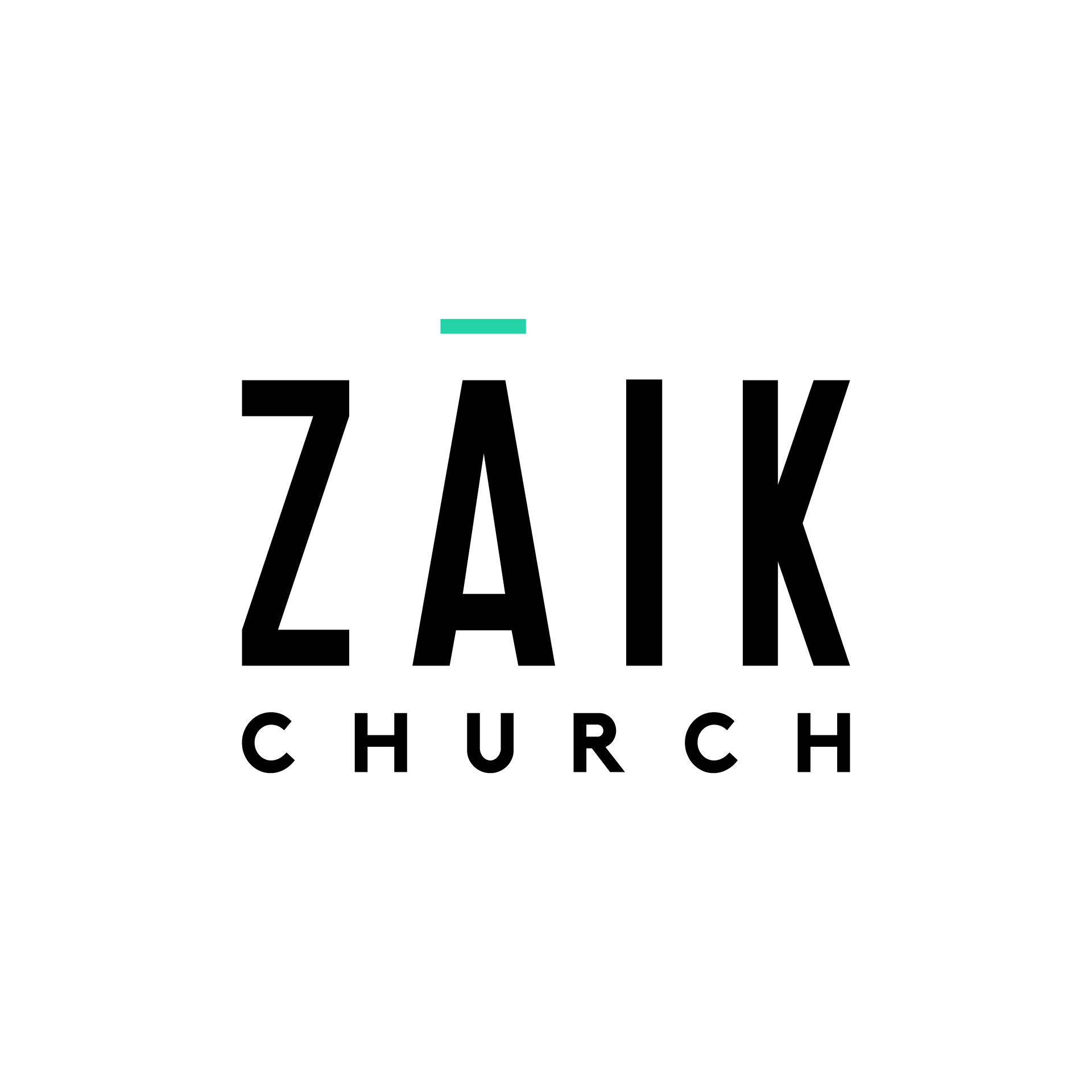 Zāik Logo with church