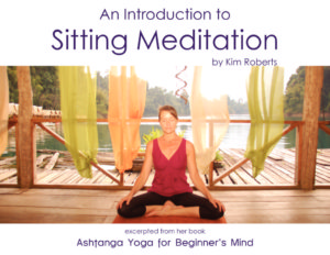 A Simple Introduction to Sitting Meditation   KimRoberts.Co