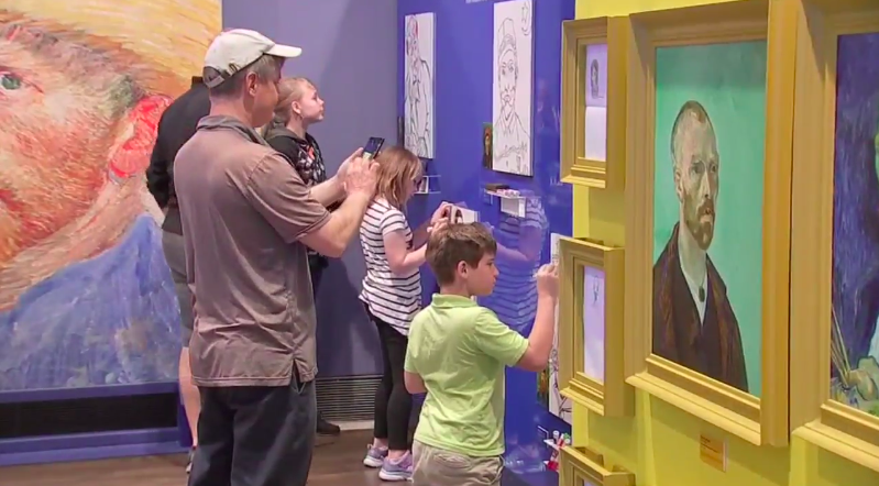 ABC-13 loves us twice! - Another segment featuring our exhibit, from the local ABC affiliate