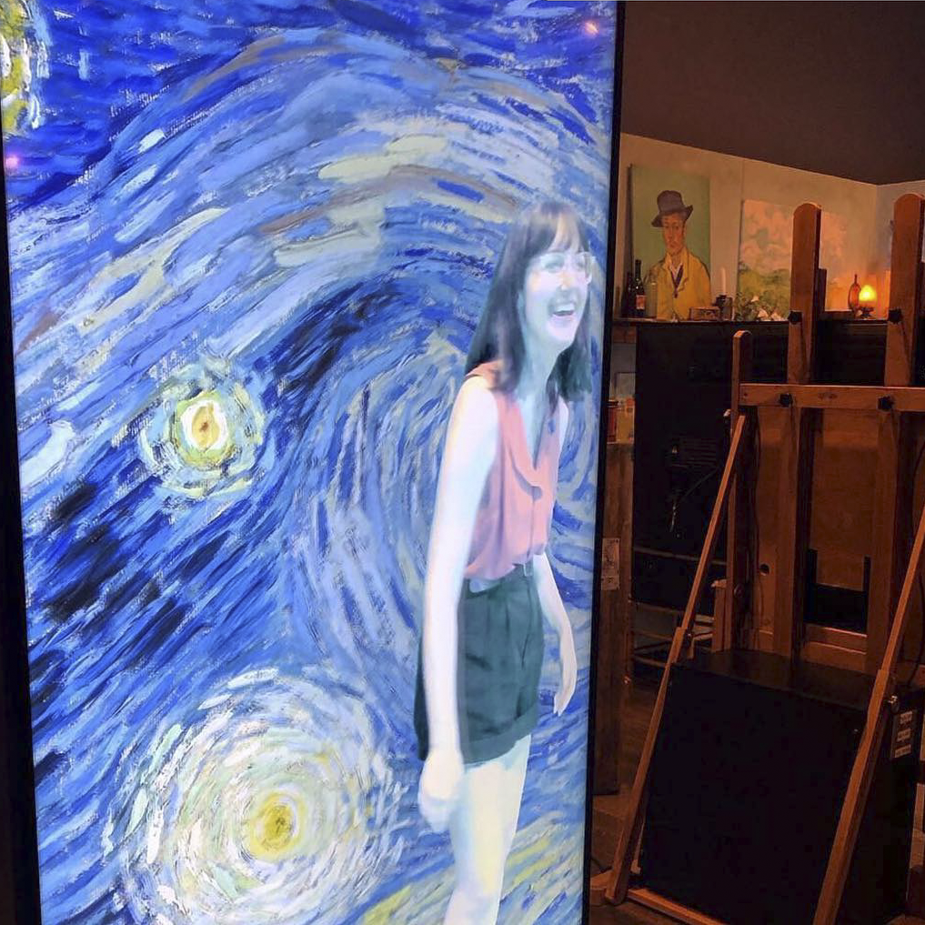 Step into his world-famous Starry Night! -