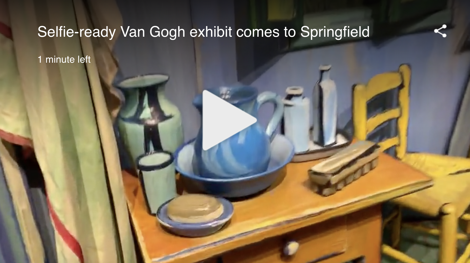 WTNH News 8… - also did a nice story on Van Gogh For All!