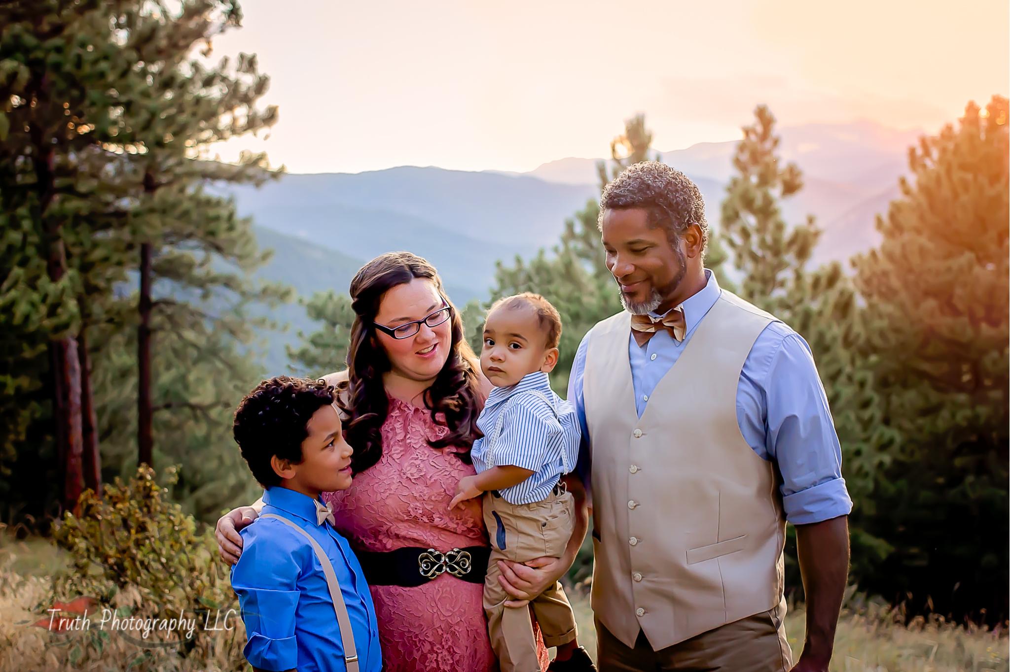Flagstaff Mountain Boulder Colorado family photographer