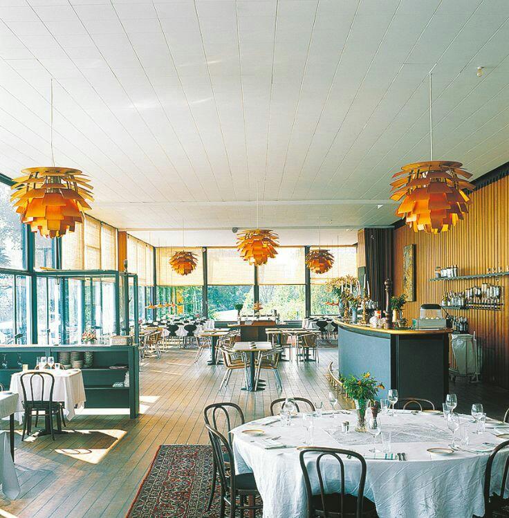 The Langelinie Pavilion, Copenhagen 1959. Photo:   dwell