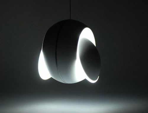 "Lamp  ""Nissyoku"". Photo:    https://www.behance.net"