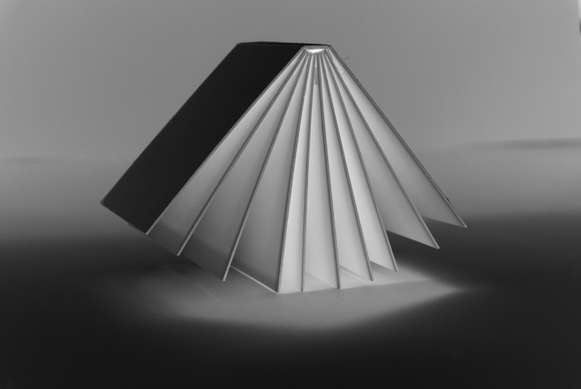 Book light by 196011240704 from Lithuania Photo:   designboom.com