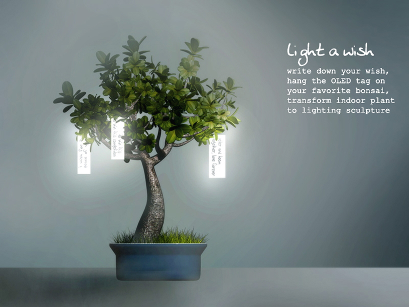 Light a wish by Zijian Li from USA Photo:    designboom.com