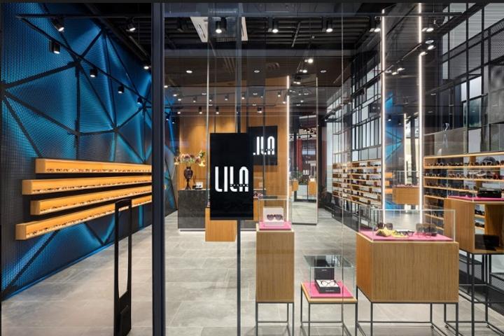 Optical store LILA 2 by Aleksandar Bauer, Belgrade – Serbia