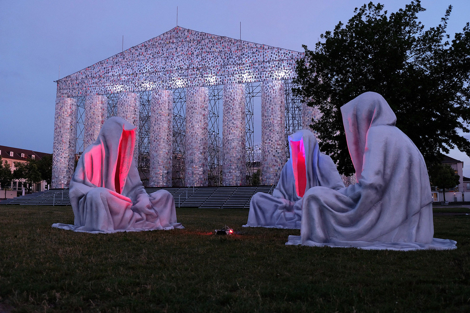 Occupy Documenta Kassel Guardians of Time, Manfred Kielnhofer, Photo:    kielnhofer.at