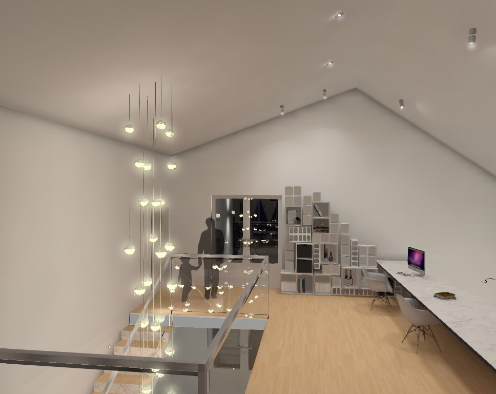 Play room - lighting visualization