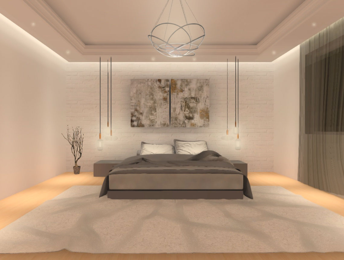 Bedroom visualization