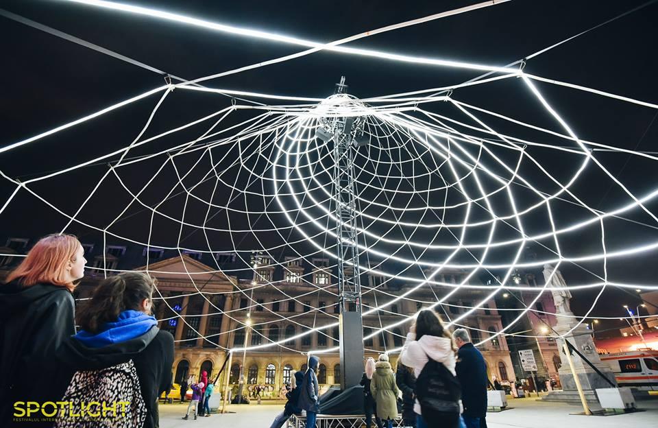 Pavilion by    Sébastien Lefèvre   (FR)  Photo:  fb.com/spotlightbucharest