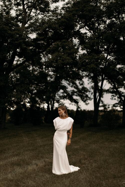 wedding dress designers - DYLAN the law bridal