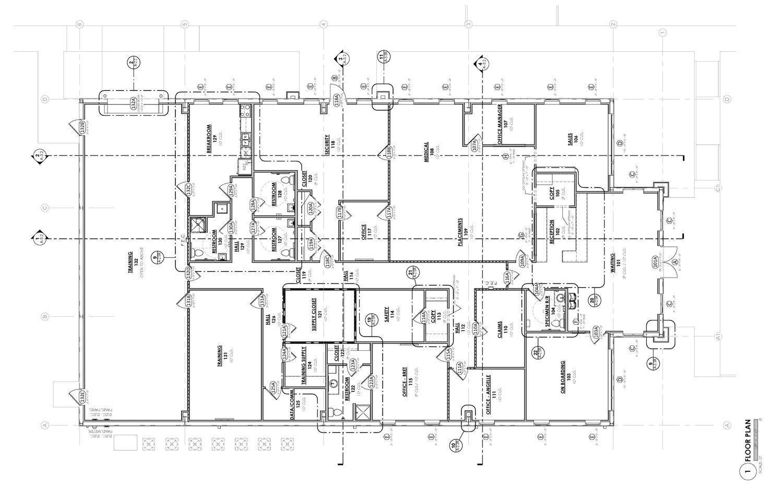 For Construction Floor Plan