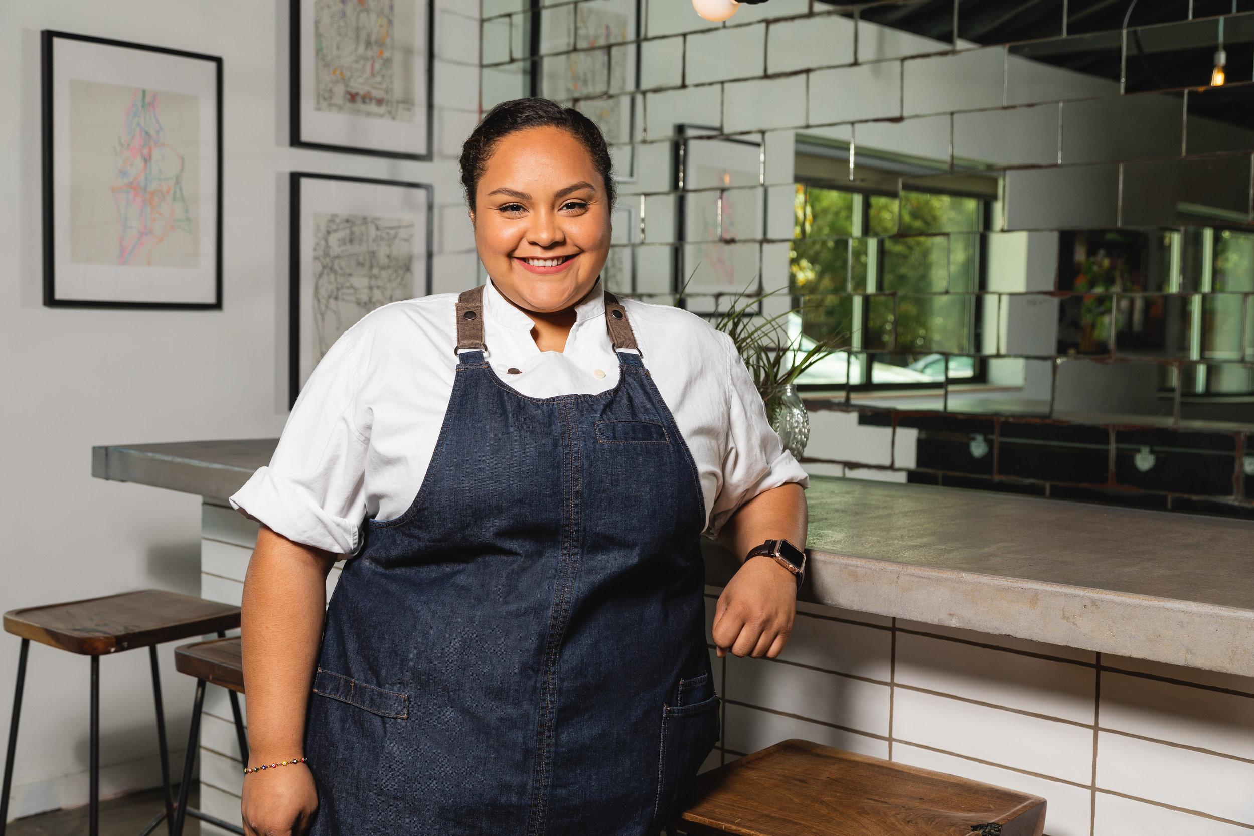 Chef Evelyn Garcia - photo by Trish Badger.jpg