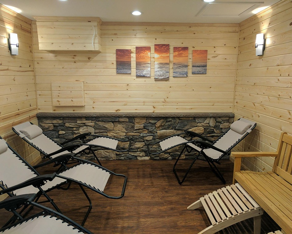 Try Salt Therapy - Salt therapy is a great way to simply detoxify and maintain a healthy respiratory system. Many choose to come regularly to achieve optimum health.