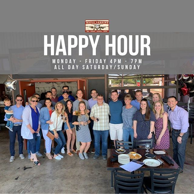We call it Happy Hour for many reasons... great prices, tasty drinks, fun people! 😍(tag yourself or people you know in the 📷!) #happyhour #maplelanding #dallasdivebar