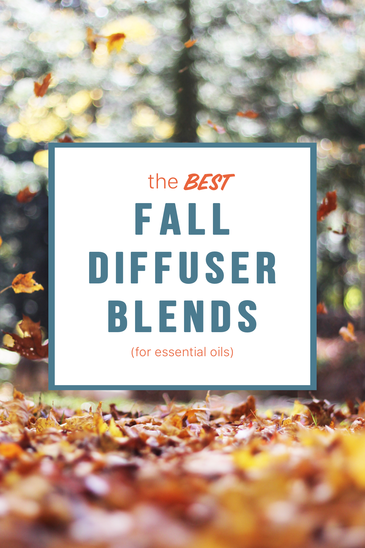 the BEST fall diffuser blends (for essential oils) | @lifeasaloewen on IG