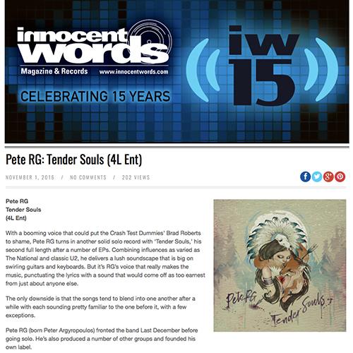 Innocent Words | November 2016