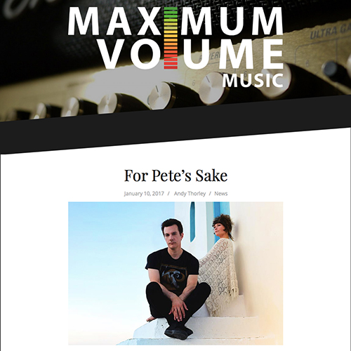 Maximum Volume | January 2017