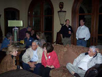 Advisory Board Chili Supper 2007 - Discussing how to proceed in the midst of opposition