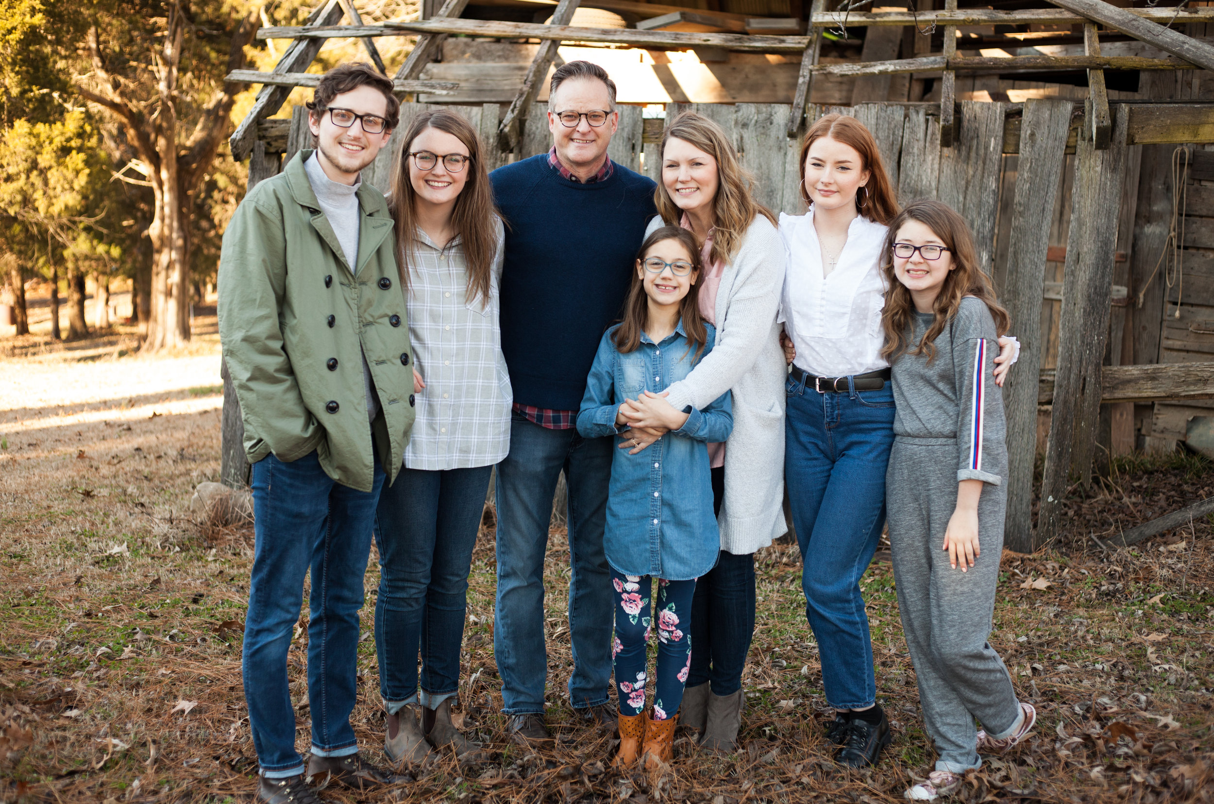 The Reeves Family, January 2019