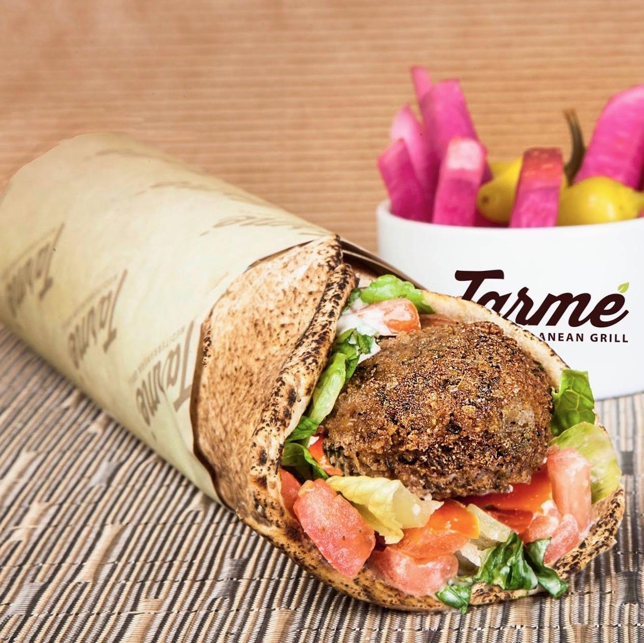 Photo: Falafel Wrap