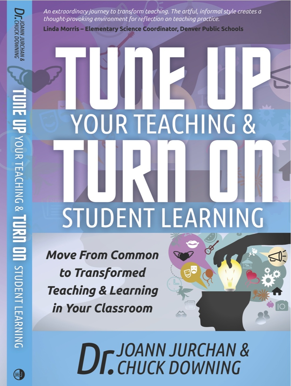 "For teachers, administrator, and parents   Regardless of the tenure of your teaching experience, you will find both guidance and pearls that will help and motivate you to transform your teaching. Written in a conversational style,  Dr. Jurchan and Dr. Downing, using concrete examples in all core areas of how to transform common activities into hotbeds of thinking.  To clarify critical points, the authors include ""He Said. She Said"" dialogs between one another, providing insight into their thought process.   This is a map of the change process ""with GPS coordinates included."""