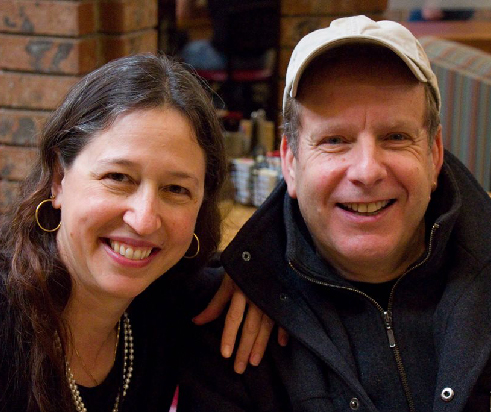 Mark ferrari with his wife Shannon Page - Photo by Jim Hines