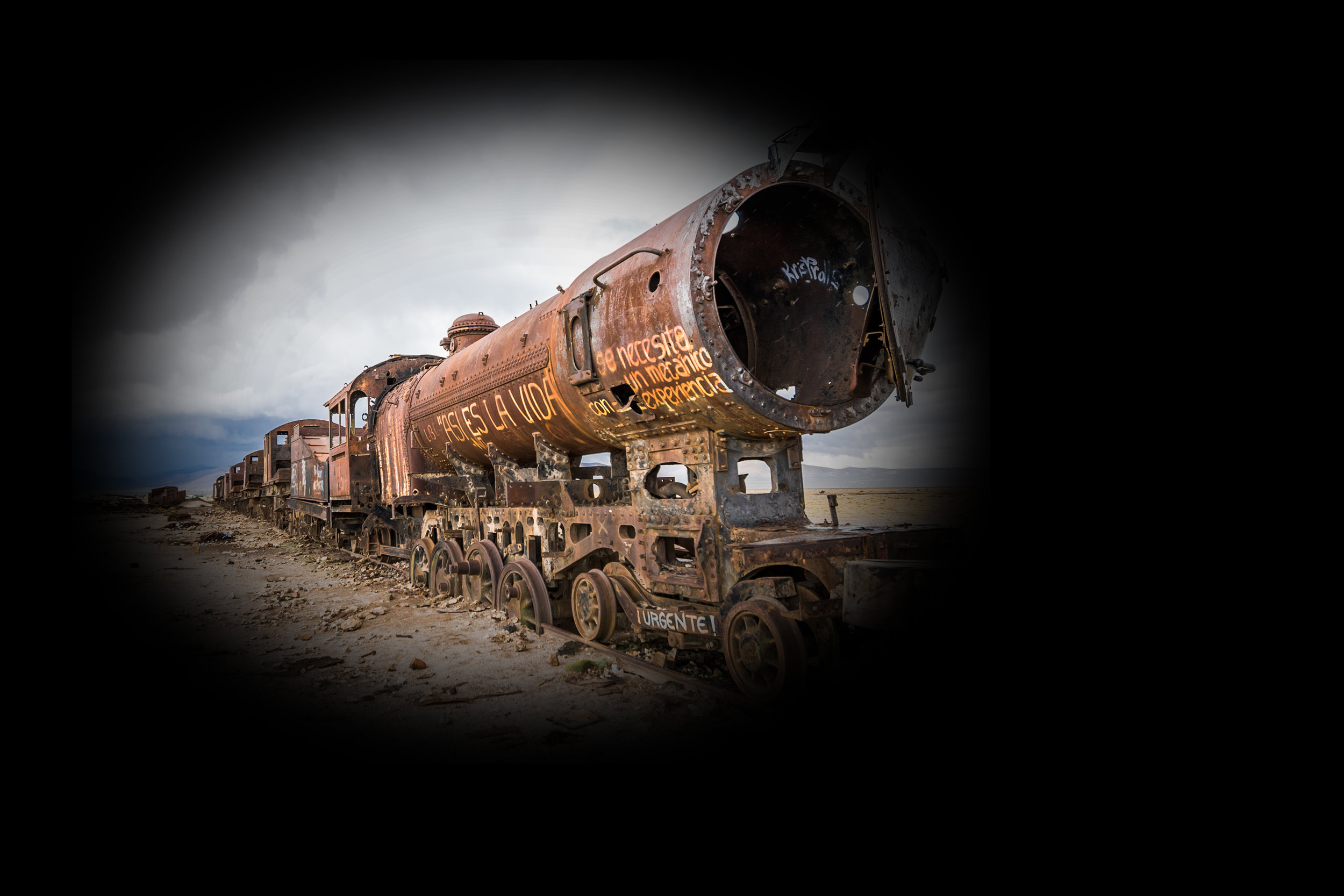 Can there be a train wreck— - —where there's no wrecked train?