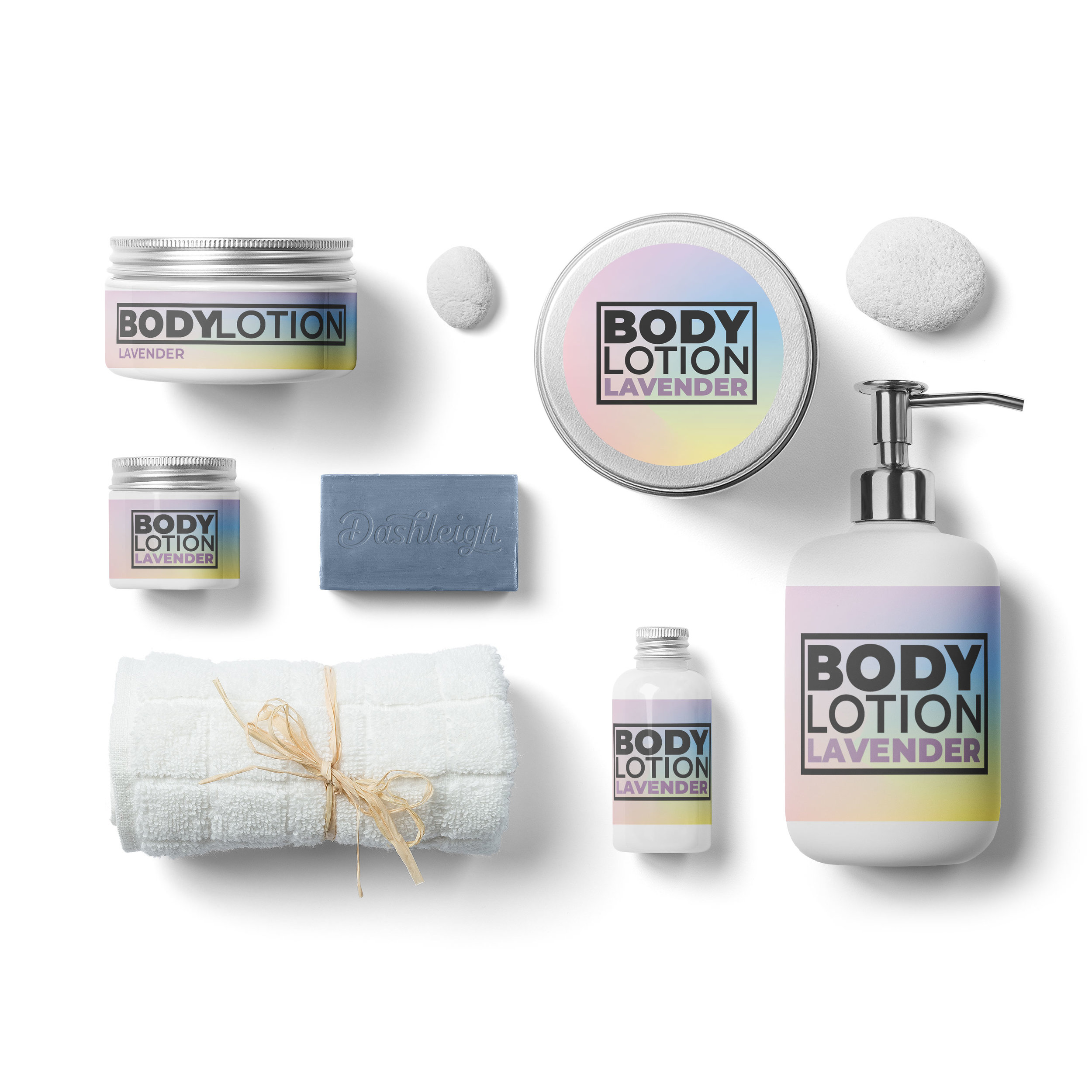 Hologram Cosmetic Labels
