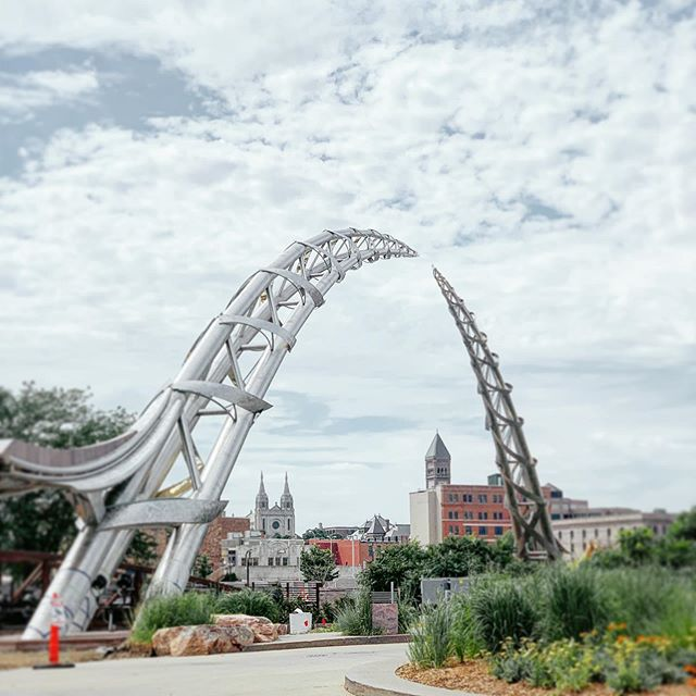 Finally got a chance to check the new arch out here in Sioux Falls South Dakota