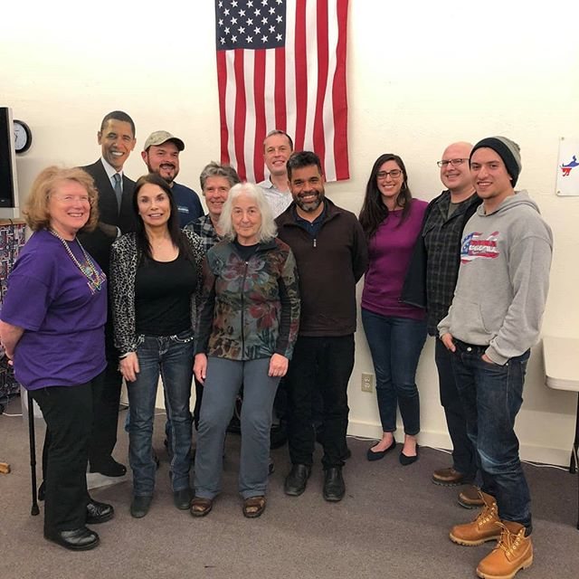 The journey continues! It was awesome to visit with the diehard Dems of Humboldt, Del Norte and Stanislaus Counties. I also got to see lots of beautiful country--California is simply the best.