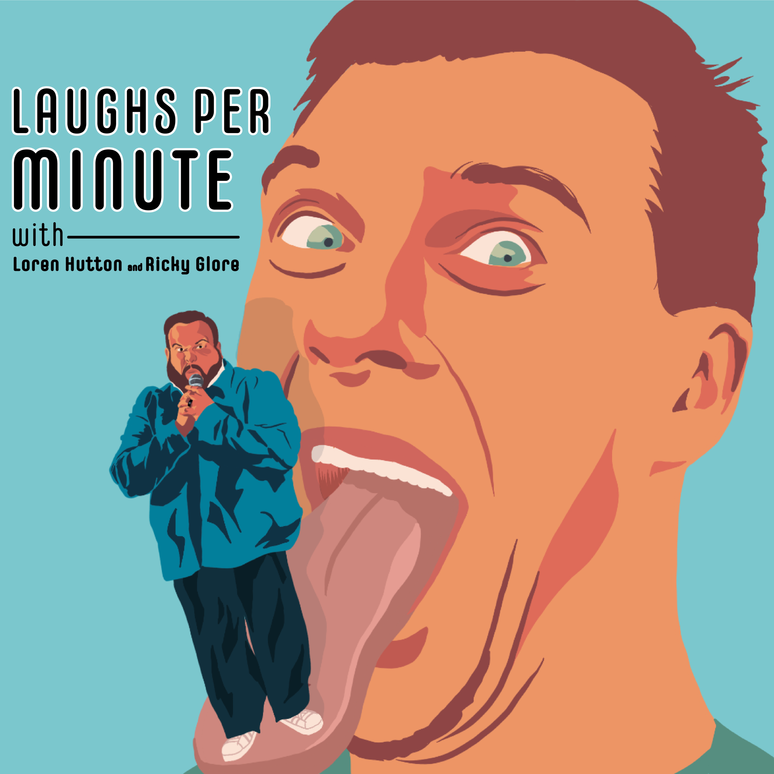 Laughs per minute - with Loren Hutton & Ricky GloreApple Podcast