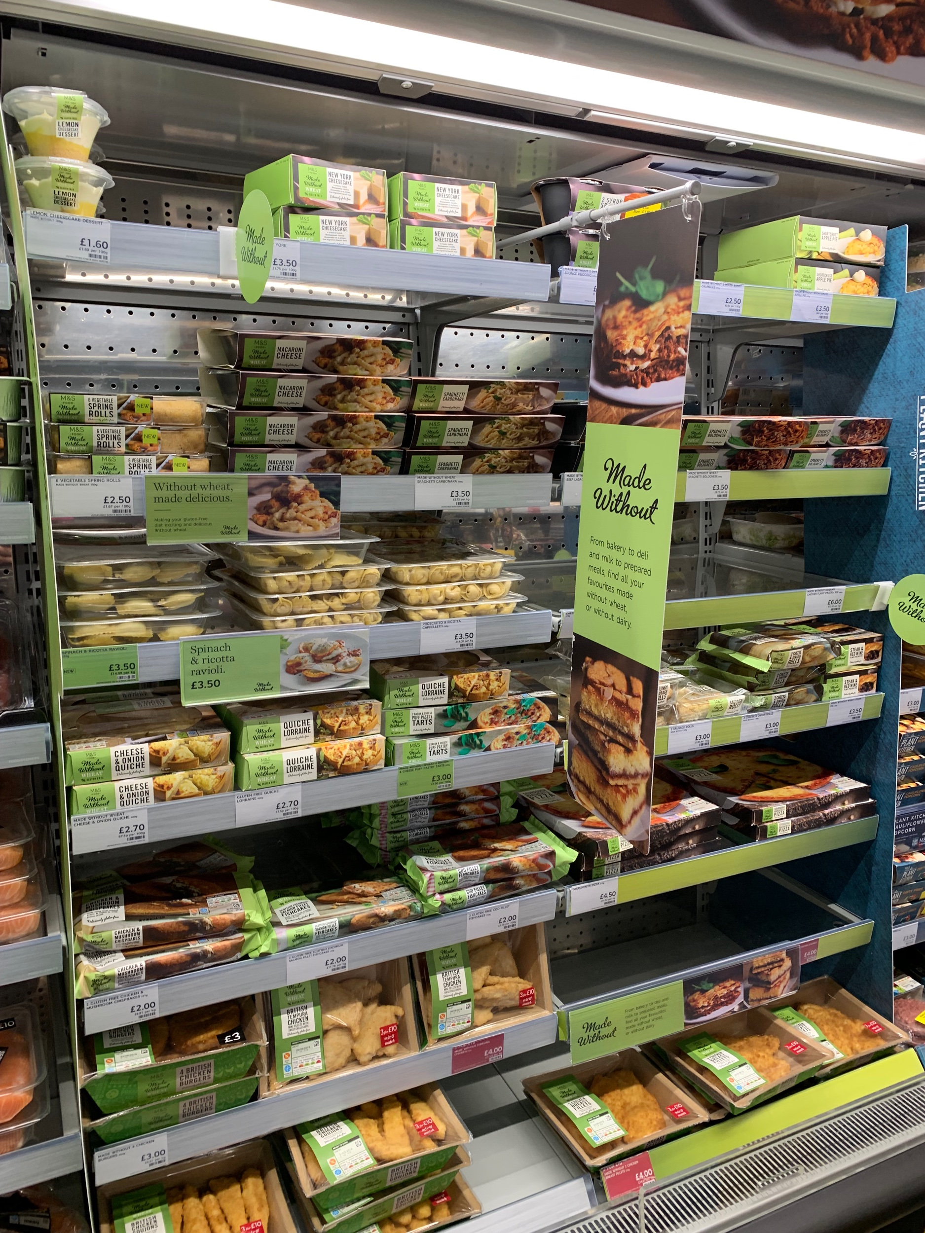 UK: Ready-to-eat meals catering to people with dietary requirements.